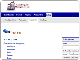 Archiving & Trash Bin Utilities