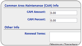 CAM Management & CAM Budgeting Tools
